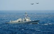 Chinese fighter jets buzz U.S. warship on South China Sea