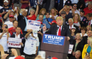 Donald Trump Denounces Professional Protesters, Incited by the Media