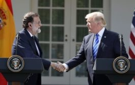 Trump rejects independence movement in Spain