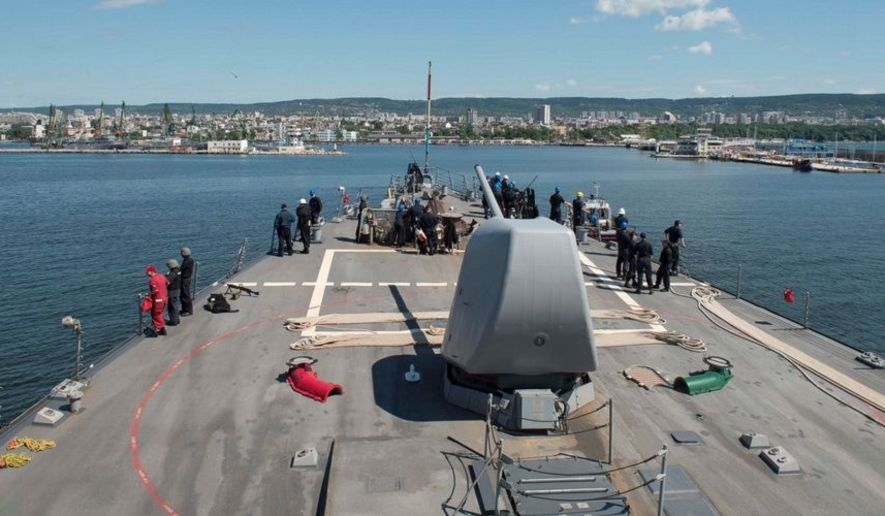 Russia warns of 'retaliatory measures' after U.S. deploys warship to Black Sea