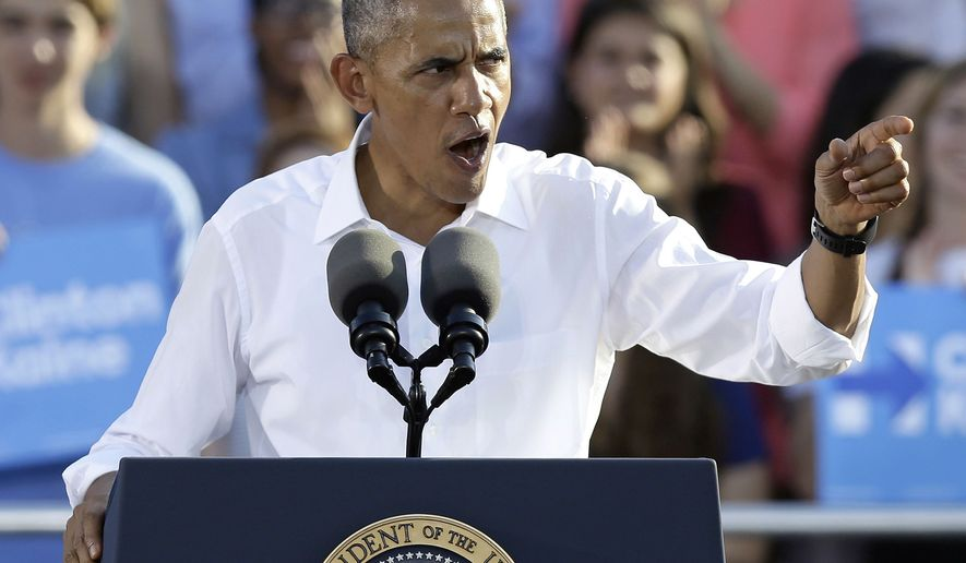 Obama slams Sen. Burr for joking about violence against Clinton
