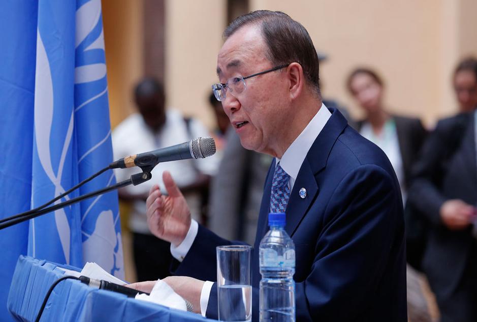 Ex-UN chief vows not to run for presidency in S.Korea