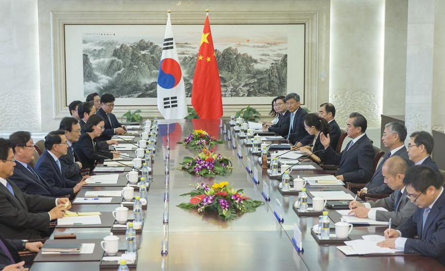 China urges ROK to remove obstacles to ties as envoy visits Beijing