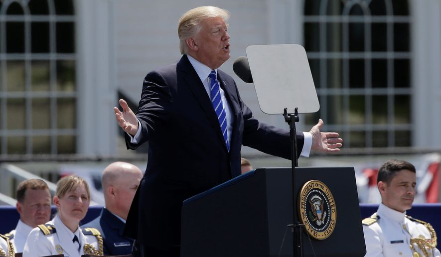 Trump engulfed in turmoil with talk of White House shake-up ahead of overseas tour