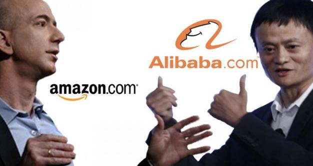 ក្រុមហ៊ុន Alibaba ឈរនៅលើ Amazon ជាក្រុមហ៊ុនពាណិជ្ជកម្មអេឡិចត្រូនិច ដ៏ធំបំផុតរបស់ពិភពលោក