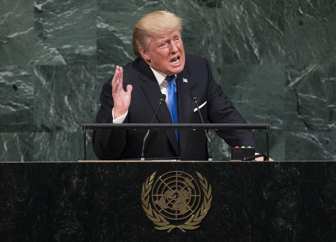 តើ Donald Trump ព្រមានកូរ៉េខាងជើងយ៉ាងម៉េច នៅចំពោះមុខអង្គការសហប្រជាជាតិ?