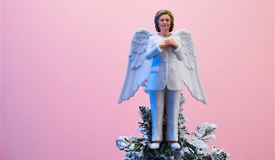 'Resistmas': the Hillary Christmas tree topper