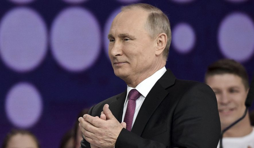 Russian President Putin announces re-election bid